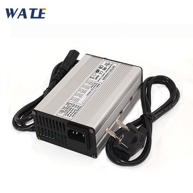 Chargeur de batterie au lithium li ion 16.8 V 8A intelligence pour 4 séries 14.8 V chargeur de batterie au lithium polymère 16.8 v