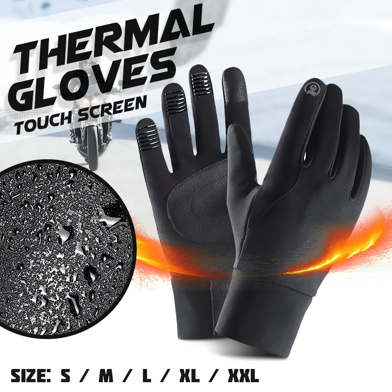 Waterproof Windproof Motorcycle Gloves Men Winter Warm Guantes Full Finger Outdoor Motorbike Protective Gloves for Touch ScreenWaterproof Windproof Motorcycle Gloves Men Winter Warm Guantes Full Finger Outdoor Motorbike Protective Gloves for Touch Screen