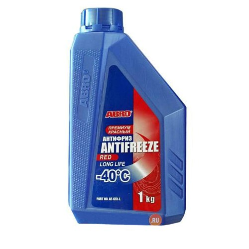 где купить Antifreeze red (kg) ABRO дешево