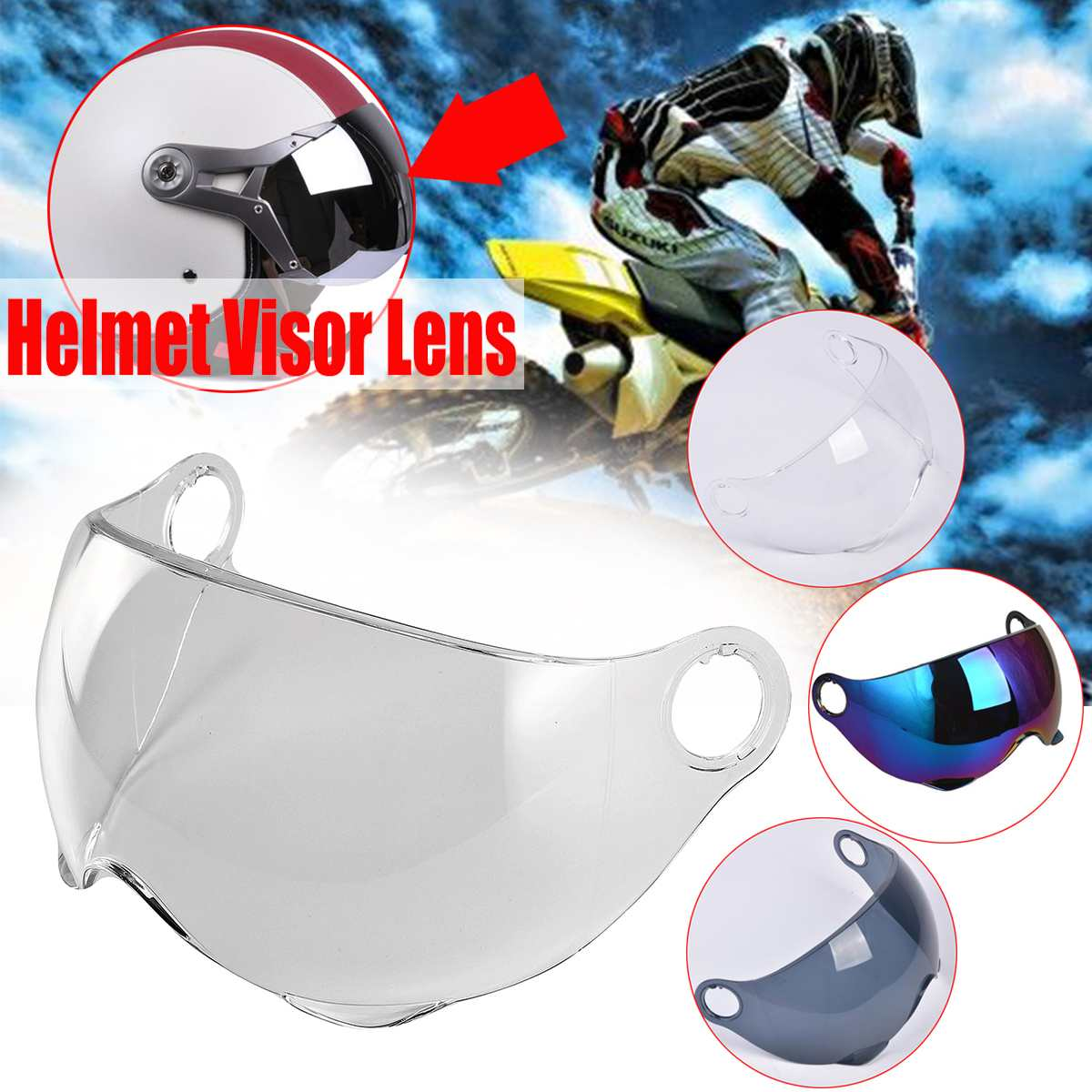Outdoor Face Mask Cold Weather Windproof Anti-Fog Riding Motorbike Helmet Glasses Flower Rovive Motorcycle Helmet Riding Goggles Glasses