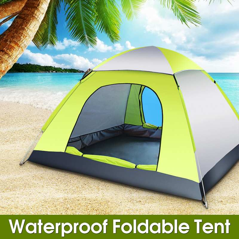 1Set Automatic Quick Open Tent Outdoor Camping Tent 170T Waterproof pole fiberglass Three Season Tourist  3-4 Person Tent1Set Automatic Quick Open Tent Outdoor Camping Tent 170T Waterproof pole fiberglass Three Season Tourist  3-4 Person Tent