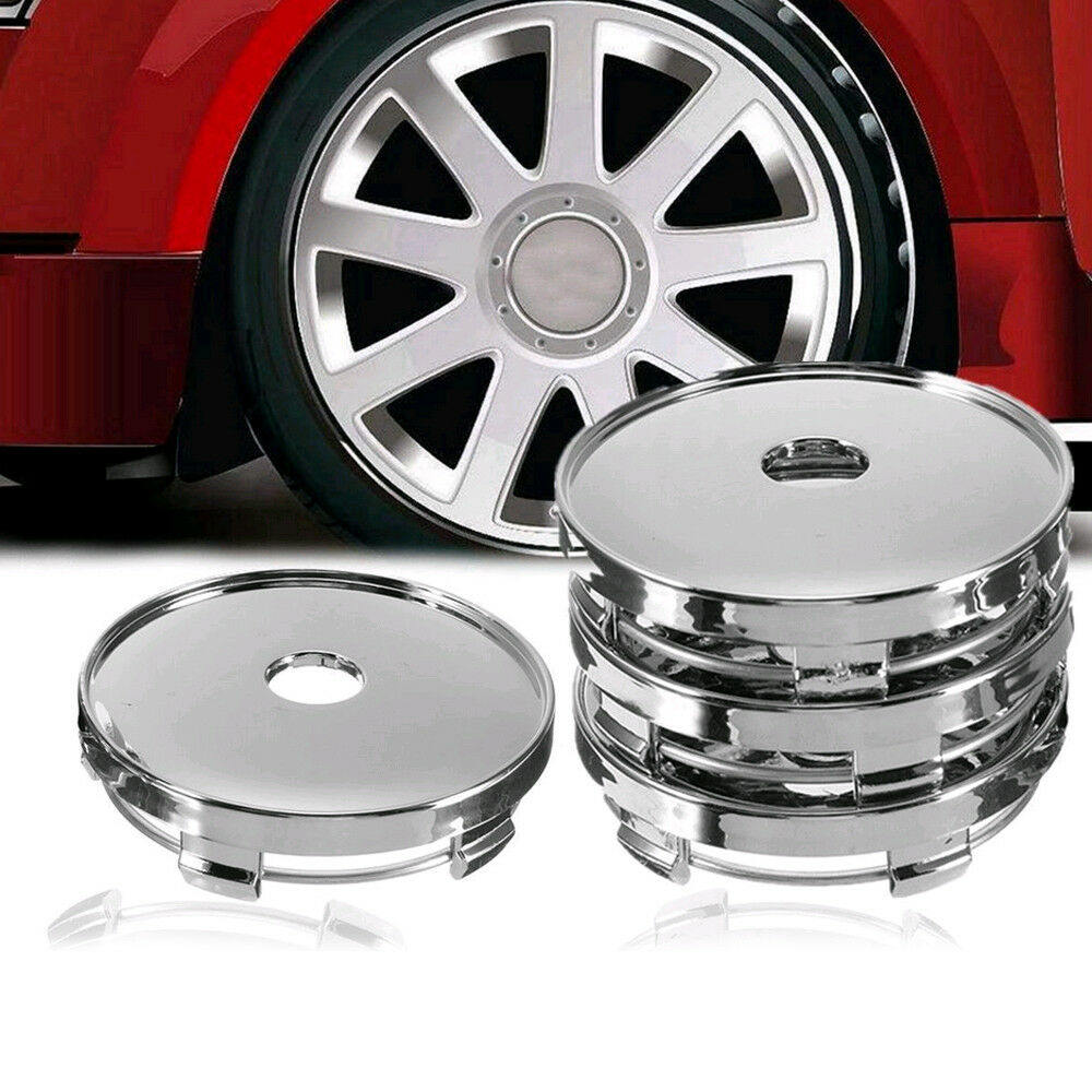 Image 4 - 4Pcs Universal Car Wheel Tire Rims Center Hub Caps Cover Decorative Hub Center Cover ABS 60mm*56.5mm-in Wheel Center Caps from Automobiles & Motorcycles
