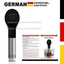 German original motor technology. 1400 Watts IPX7 Waterproof vacuum cook Food cooking machine. sous vide cooker