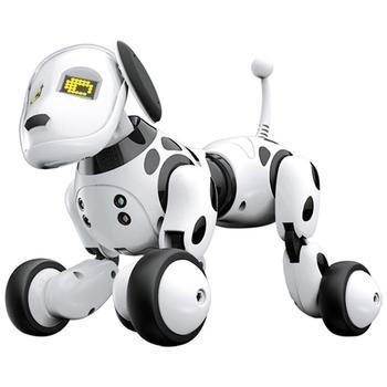 DIMEI 9007A 2.4g A Distanza Senza Fili di Telecomando Robot Intelligente Cane Per Bambini Giocattoli Intelligenti Talking Dog Robot Elettronico Pet Giocattolo