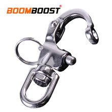 Hook Yacht Sailing Eye Shackle Heavy Duty Anchor Chain 316 Stainless Steel Quick Release For Marine Architectural Swivel D Ring