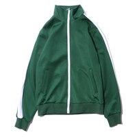 Hip Hop China School Uniforms Style Jacket Men Women 2019 Fashion Oversized Polyester Coat For Teenager Autumn Clothing J0239