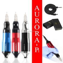 Tattoo Pen Rotary Tattoo Machine & Permanente Make Up Pen Motor Liner & Shader Voor Cartridge Naalden Supply B7
