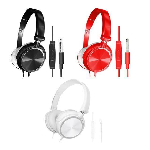 אוזניות משחקי אוזניות Wired סטריאו העמוק בס אוזניות אוזניות עם מיקרופון מחשב סטריאו משחקים עבור מחשב טלפון