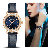 Women Luxury Watch Reloj Mujer 2018 MEGIR Twinkly Small Women Watches Rose Gold Free Shipping Damen Uhren Montres Femme Dropship