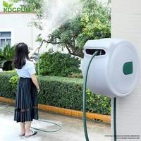 Automatic Telescopic Hose Reel Car Wash Garden Water Hose Storage Rack Holder Retractable Hose Reel Cart Jardin Watering Tools