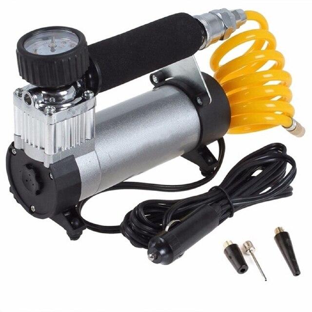 100PSI 12V przenośny do samochodu elektryczna pompa powietrza w oponach sprężarki Inflator mini kompresor powietrza pompka inflatora powietrza 1 zestaw