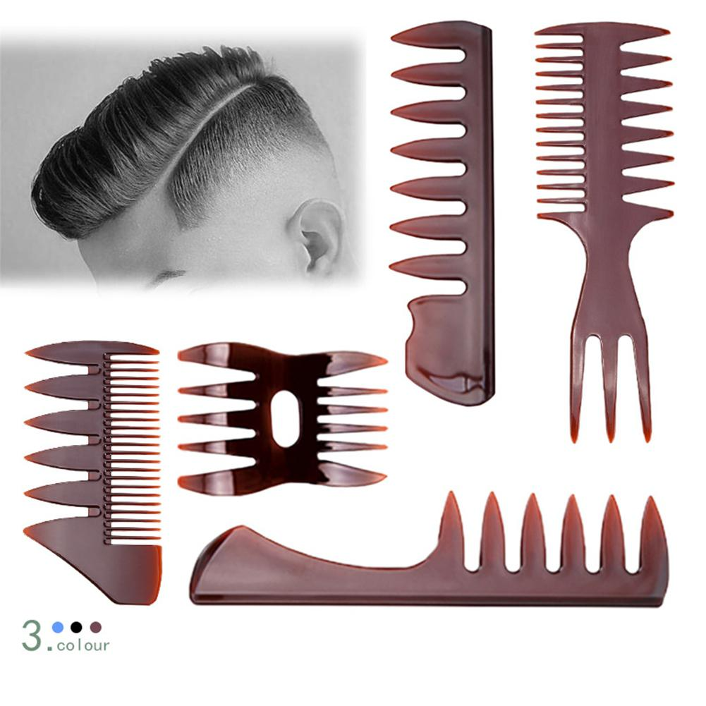 BellyLady 5 Pcs/set Large Teeth Hair Comb Back Head Styling Comb Men Hairdressing Wide Teeth CombBellyLady 5 Pcs/set Large Teeth Hair Comb Back Head Styling Comb Men Hairdressing Wide Teeth Comb
