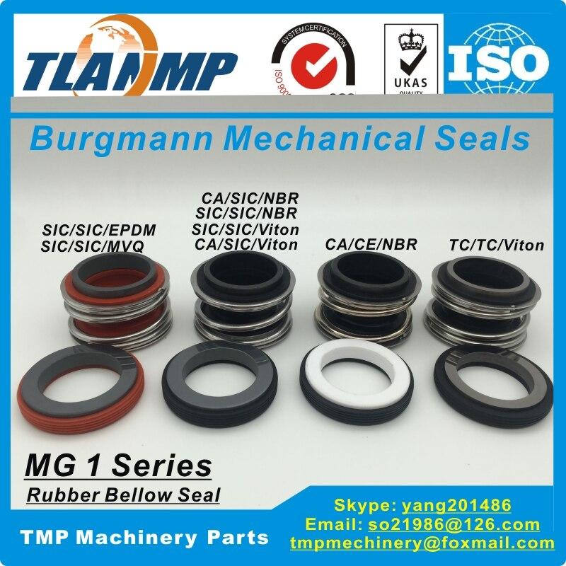 MG1-40 Burgmann Mécanique Joints pour Arbre taille 40mm Pompes, MG1/40-G60. MB1-40, 109-40 (avec G60 Coupe Stationnaire siège)