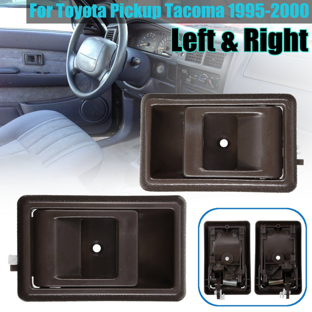 Front Rear Left Right Interior Door Handle For Toyota Pickup Tacoma 1995 1996 1997 1998 1999 2000 69205 04010 Buy At The Price Of 3 20 In Aliexpress Com Imall Com