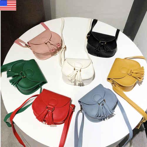 a2cfab4e7ea9 2019 New Plush Backpack Girl Handbag Small Leather Crossbody Bag Purse  Vintage Cell Phone Travel Bag