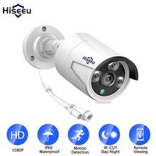 Hiseeu cámara IP de exterior HB612 1080P HD, cámara ip de red inalámbrica de 2,0 MP y 3,6mm con POE, infrarrojos, detección de movimiento y visión nocturna