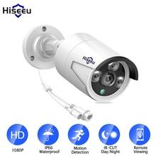 Hiseeu câmera de uso externo hb612 1080p hd ip, 2.0 mp 3.6mm, sem fio, rede ip com poe ir cut detecção de movimento visão noturna