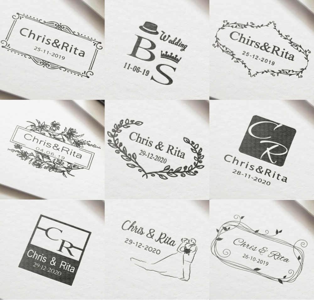 Custom Stamp Wedding Self Inking