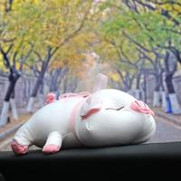 VODOOL Cartoon Pig Car Bamboo Charcoal Bag Auto Interior Formaldehyde Smelly Remover Activated Carbon Air Freshener Deodorant