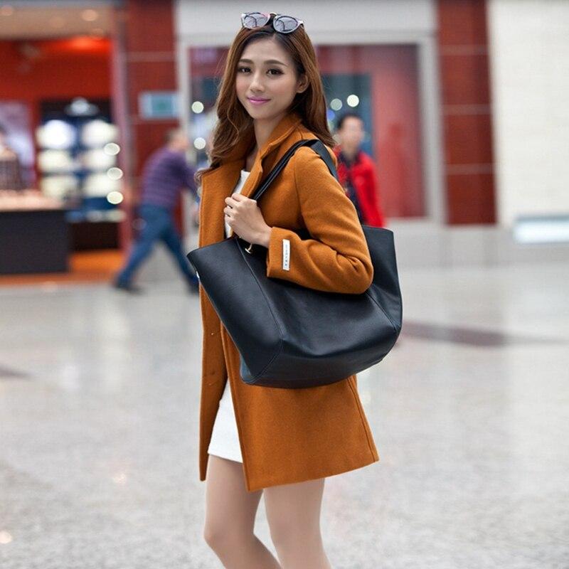 Sacos de Ombro Grande Balde Bolsa Feminina Ranhuang