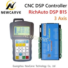RichAuto DSP B15 Cylinder Multi-spindle CNC USB Controller 3 Axis Control System Manual Replace A15 NEWCARVE