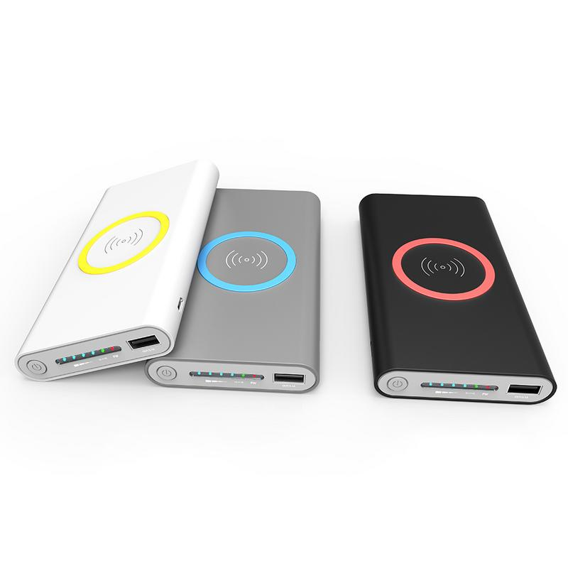 Power Bank Wireless Charger for Samsung Mobile Phon