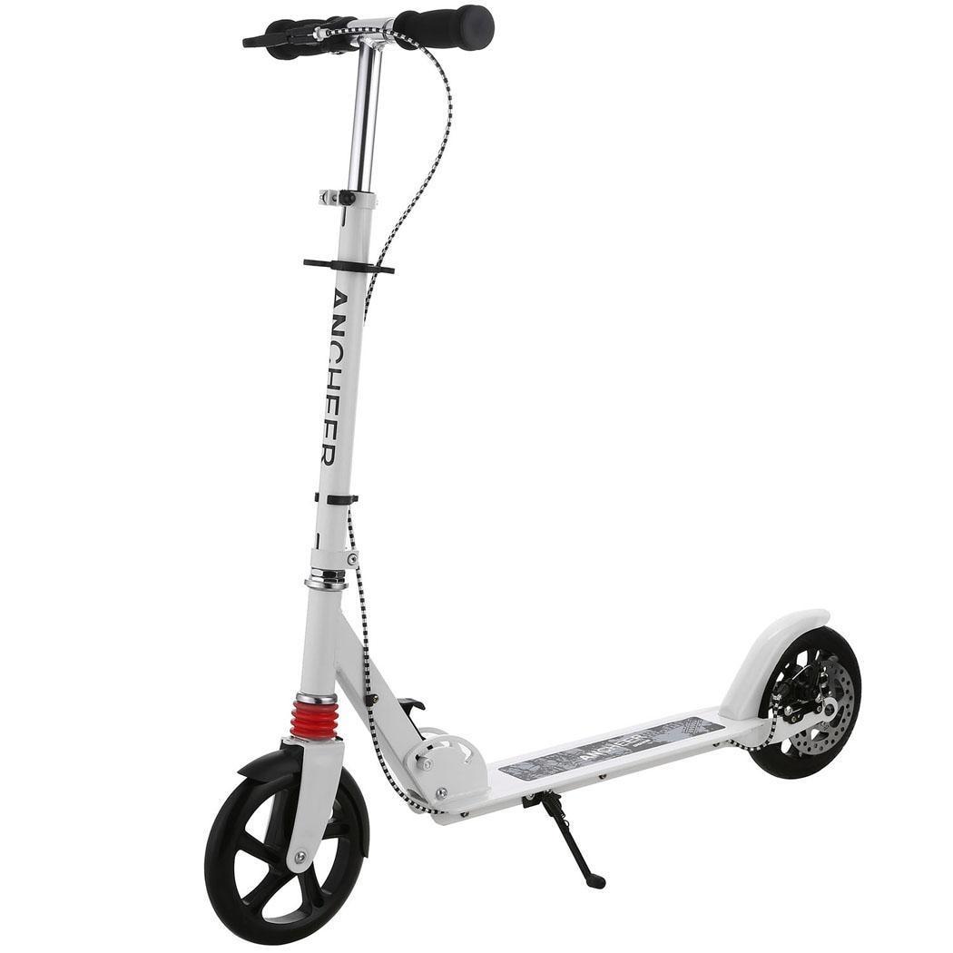 Enfants adultes Scooter Alliage Réglable En Aluminium Hommes Femmes Hauteur 3-Roue Booster Pliable Mini Smart Pour Adulte