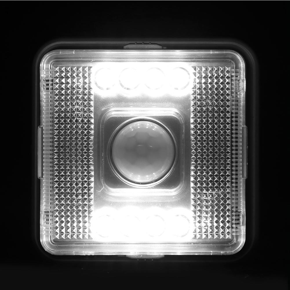 LED Square Motion IR Sensor Night Light Human Body Induction Corridor Closet  For Children