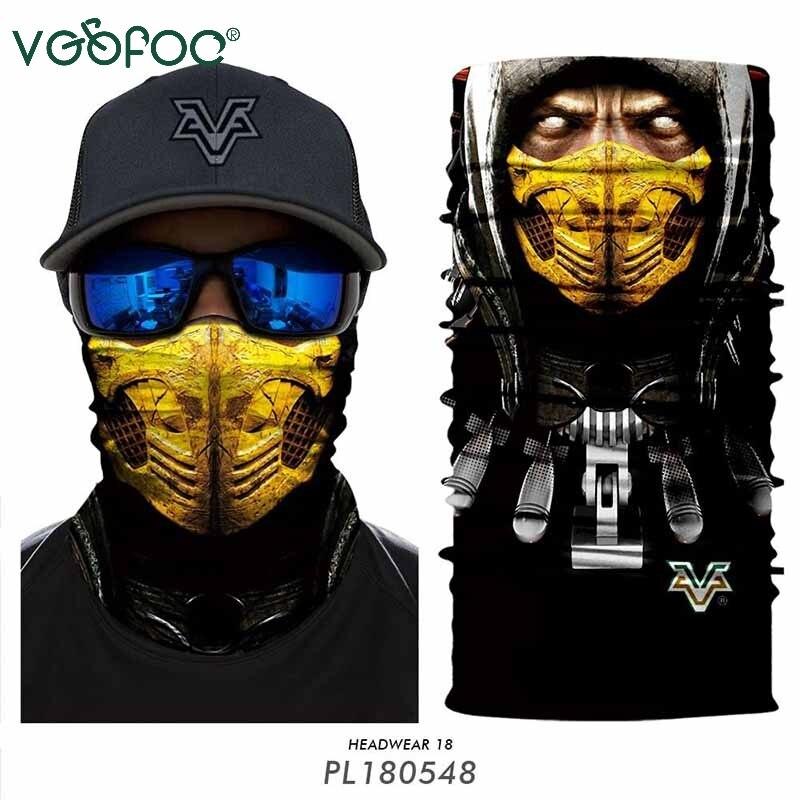 Cycling scarf Bandanas Ciclismo Neck Warmer Headband Scarfs  men Fishing Camo Bandana Face Mask Neck Tube Outdoors Sports
