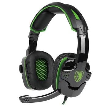 SADES SA-930 Stereo Surround Gaming Headset Headband Mic Headphone