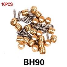 10 пар Гидравлический дисковый тормоз Т-масло для головы булавки оливковая головка Велосипедный тормозной шланг разъем для BH90 BH59