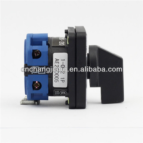 Aliexpress.com : Buy 25A Changeover Switch 1 0 2 1P 4 terminals with ...