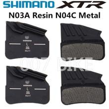 SHIMANO N03A N04C D03S Pads DEORE XTR DEORE N03A N04C Cooling Fin Ice Tech Brake Pad Mountain M9120 M7120 M8120 Brake Pad