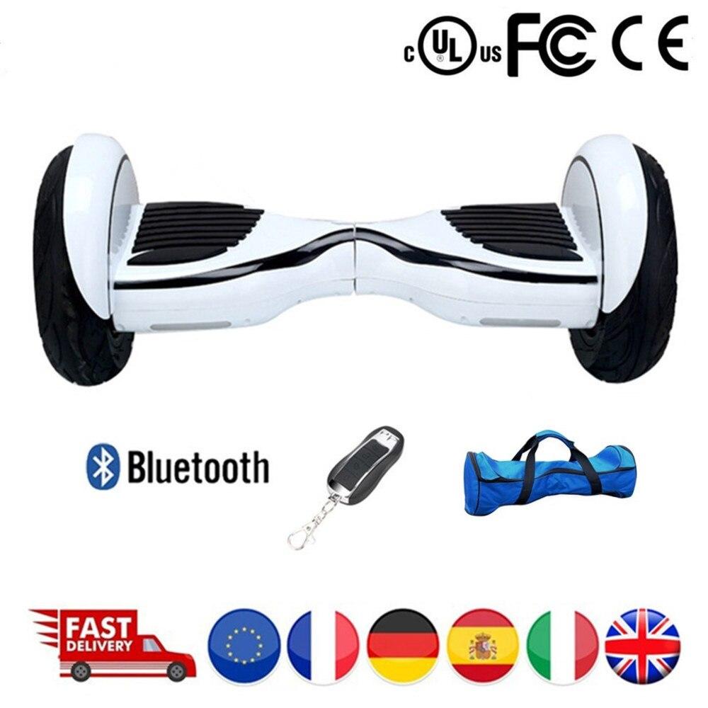 Scooter électrique Hoverboard planche à roulettes vol stationnaire auto équilibrage Scooter 10 pouces Hoverboard 10 pouces Skuter jouets adultes
