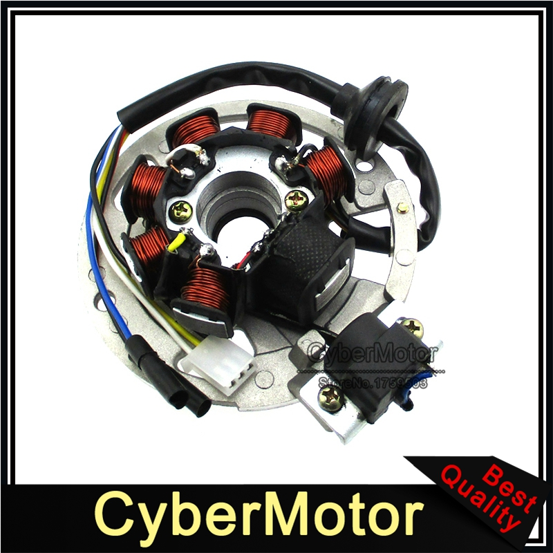 5 Wires 7 Coils Ignition Magneto Stator For 2 Stroke Yamaha JOG Minarelli 50 50cc 90 90cc Scooter Alpha Sports ATV 1PE40QMB-in Motorbike Ingition from Automobiles & Motorcycles