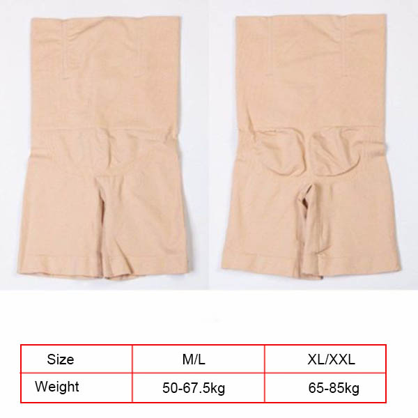 US $4 6 36% OFF|Women High Waisted Shapermint Shapewear Shaper Shorts Slim  Elastic Body Shaper XRQ88-in Control Panties from Underwear & Sleepwears on