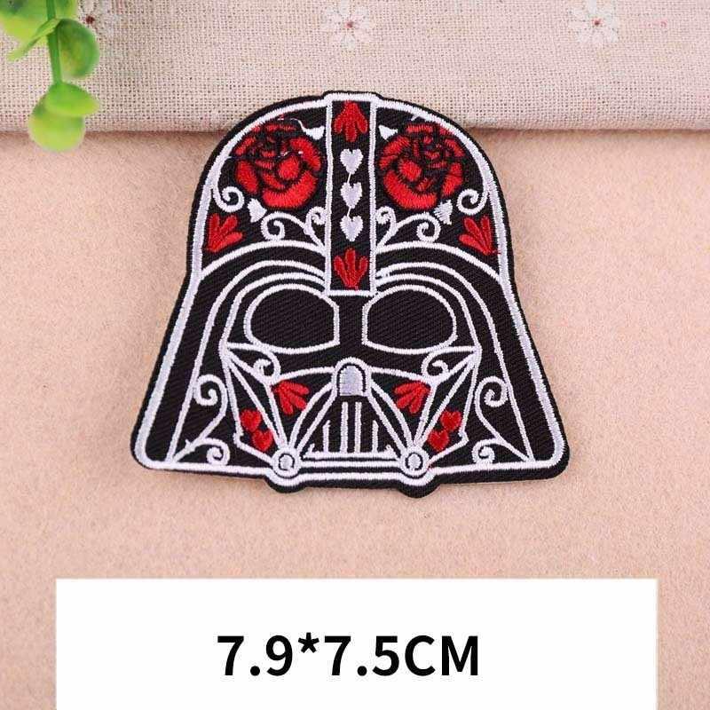2019 Novo sabor Étnico Star Wars Crachá EUA Folha Punk Asa Folha De Bordado Patch de Subsídios Máscara Pacote de Sapatos E Chapéus patches