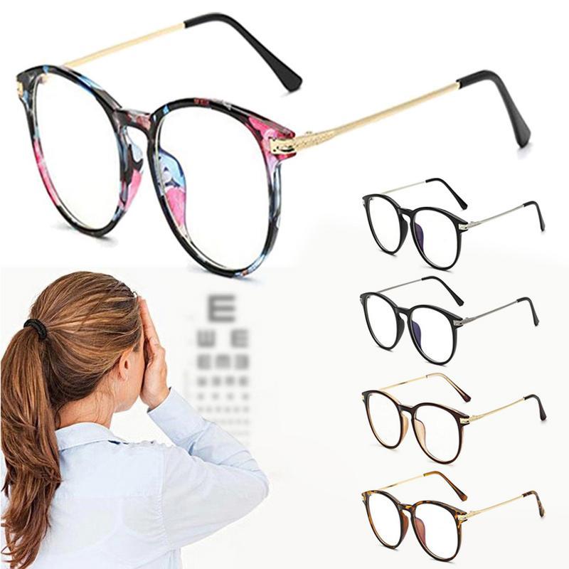 Couple Sunglasses Anti-radiation Eyeglasses Myopia Blue Light Filter Mobile Phone Computer Eyewear No Degree Clear Lens Goggle