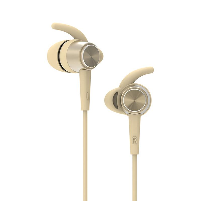 Image 2 - Portabole Mini Earphone In Ear Silicone Earmuffs Flexible Metal Earbuds Stereo Hd Bass Sounds Music Surrounding Outing Devices-in Phone Earphones & Headphones from Consumer Electronics