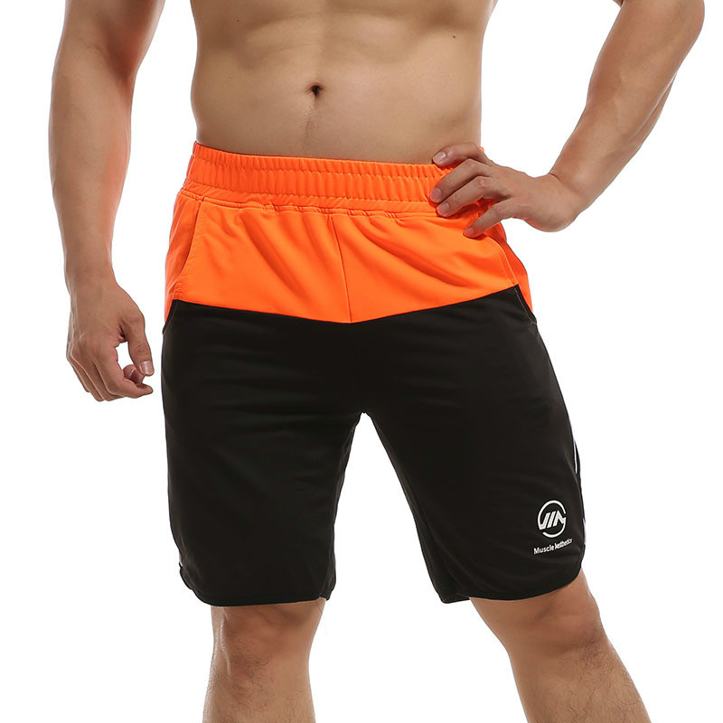 Mens Casual   Shorts   Run Jogging Sports Loose Polyester Quick Dry Bodybuilding Sportswear Male   Short   Pants