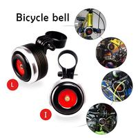 USB Charging Bicycle Bell Electric Horn With Alarm Loud Sound Horn Ring BMX MTB Bike Handlebar Cycling Safety Anti theft Alarm