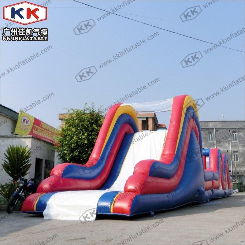 Parcours d'obstacles gonflable vert pour Camp de démarrage - 4