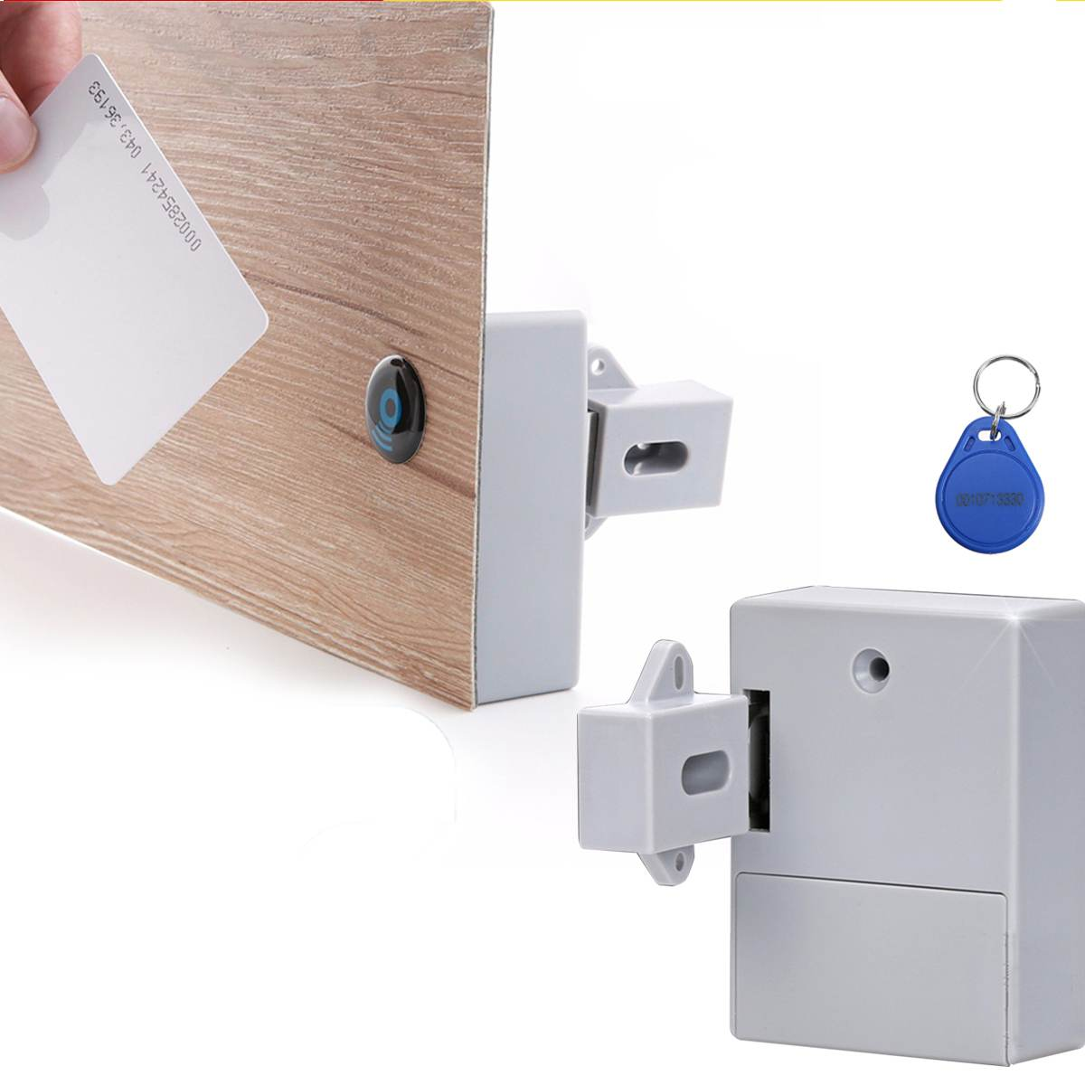 Invisible RFID Electronic Cabinet Smart Lock IC Card Sensor RFID Drawer Locks