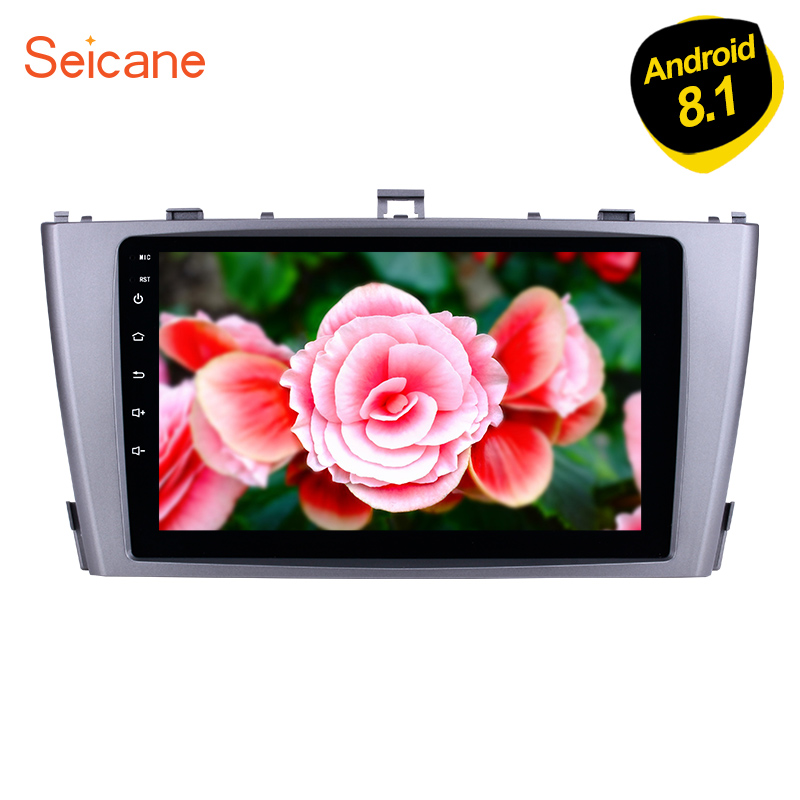 Seicane Car Multimedia Player For 2009 2010 2011 2012 2013 Toyota AVENSIS 9 Inch 8 core