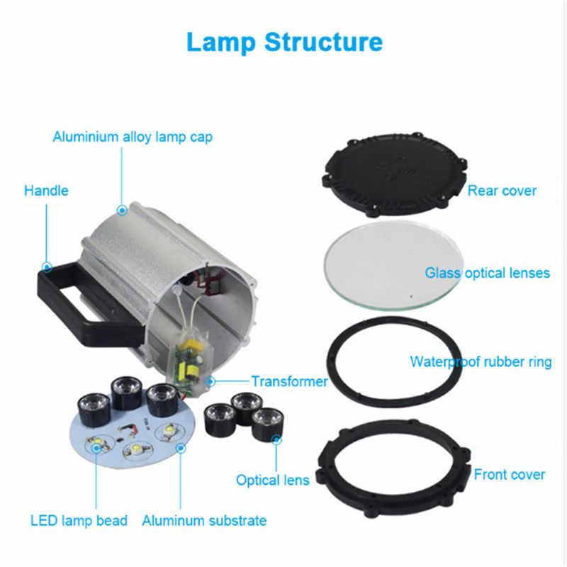 CLAITE 7 Вт 90-220 В 50 см Светодиодный промышленный станок с ЧПУ Токарный станок фара фрезерный станок рабочий свет с магнитной основой США штекер
