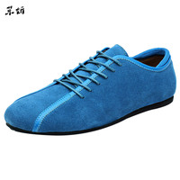 Fashion Breathable Walk Shoes Couple Men's Peas Fashion Couple Men's Peas Flat Shoe Lace up Light Casual Sneakers #89