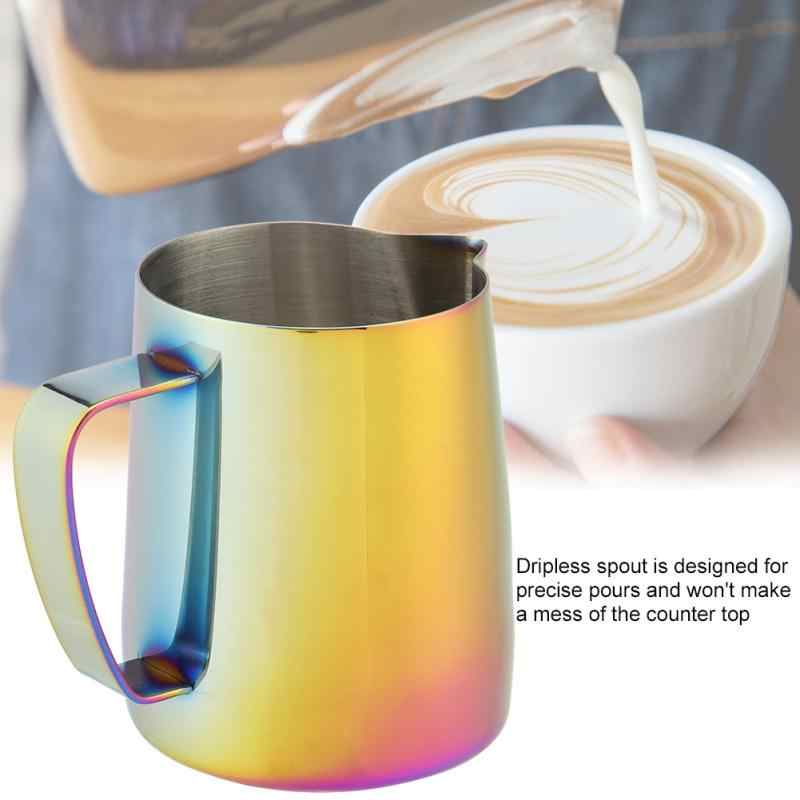 350 мл нержавеющая сталь ЛАТТЕ арт кувшин кружка для взбивания молока эспрессо кофе кружка ремесло кофе чашки для капучино горшок Инструменты Новый