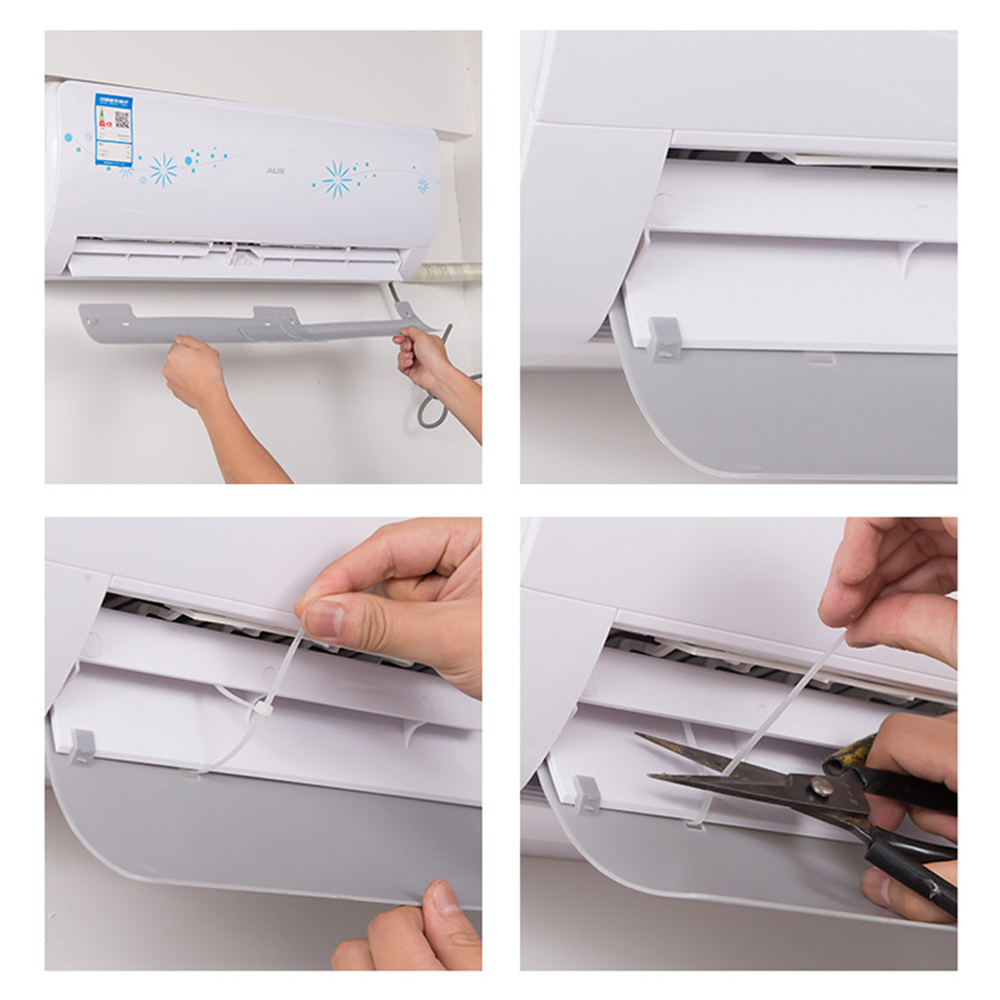 Windguard кондиционер лобовое стекло расширяемый воздушный демпфер пластик перегородка офис анти прямой выдув
