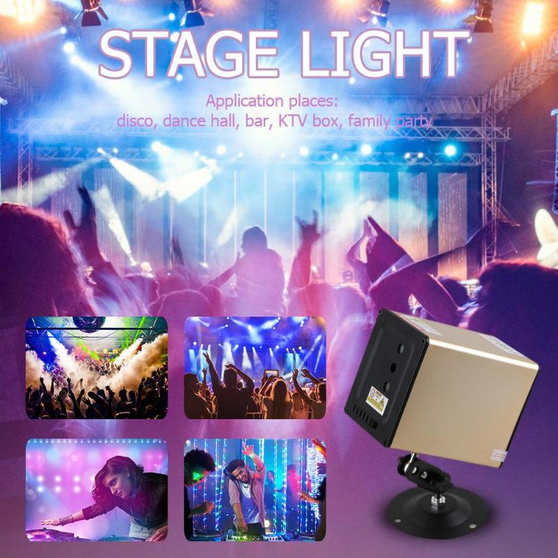 New Bluetooth Speaker LED Disco Stage Light Remote Control Full Color Laser Projector Voice Control Stage DJ KTV Disco Bar LightNew Bluetooth Speaker LED Disco Stage Light Remote Control Full Color Laser Projector Voice Control Stage DJ KTV Disco Bar Light