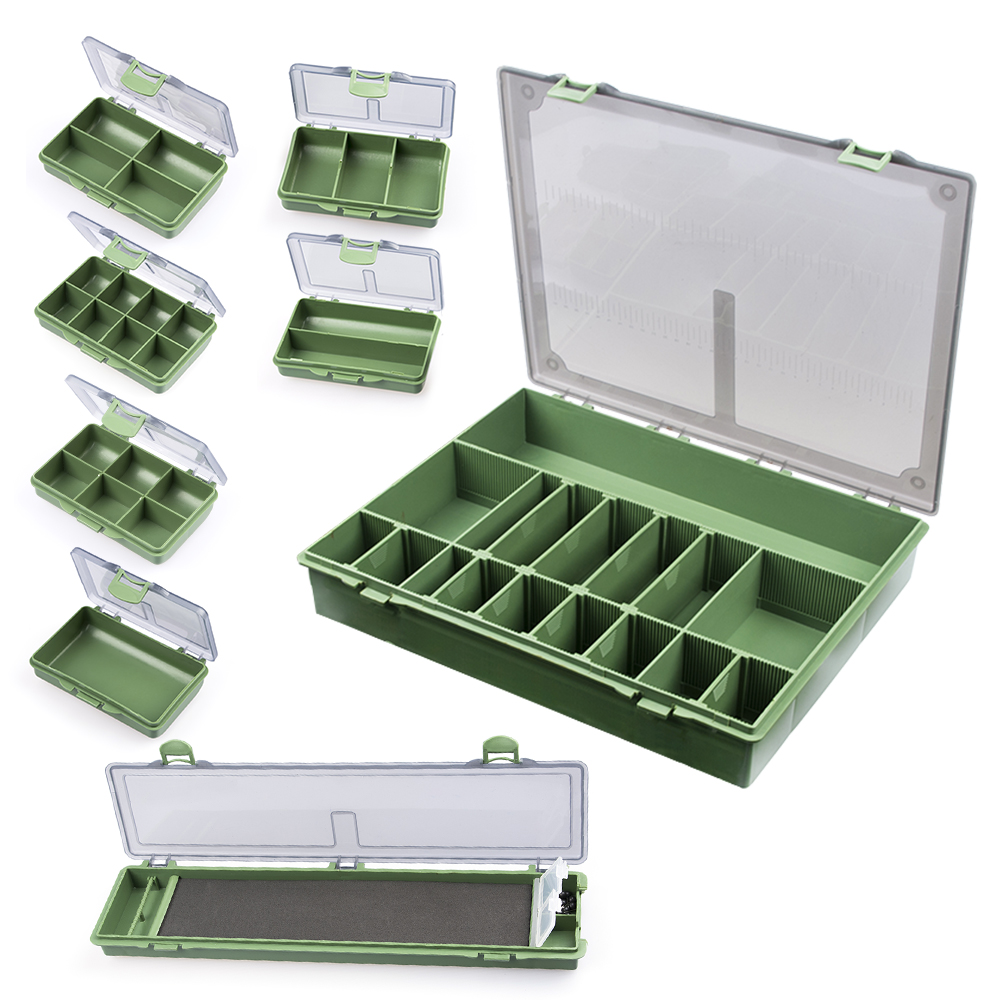 8/6/4 Compartments Fishing Tackles Box Tackle Storage Box for Fishing Accessories Carp Fishing Pesca Baits Lures